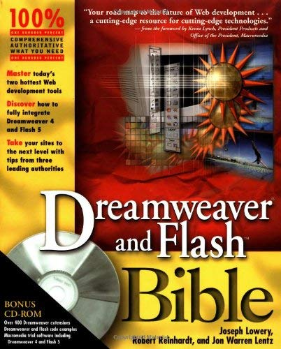 Dreamweaver and Flash Bible [With CDROM] 9780764548642