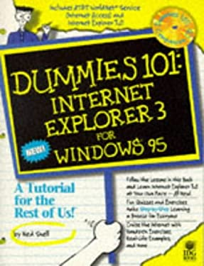Dummies 101: Internet Explorer for Windows 95 9780764500749