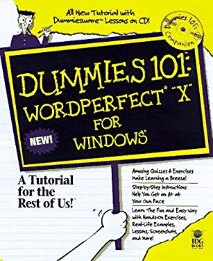 Dummies 101: WordPerfect 8 for Windows [With *] 9780764501890