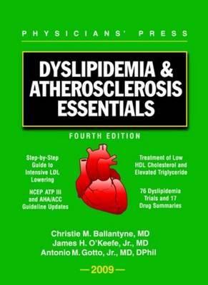 Dyslipidemia & Atherosclerosis Essentials 2009 9780763766092