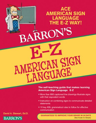 Barron's E-Z American Sign Language 9780764144585