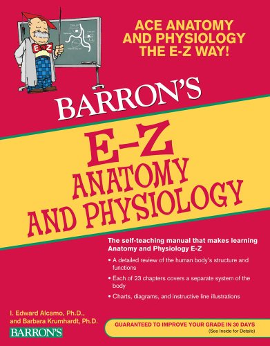 Barron's E-Z Anatomy and Physiology 9780764144684