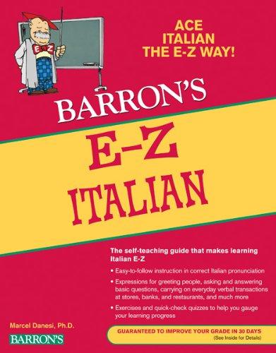 Barron's E-Z Italian 9780764144547