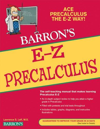 Barron's E-Z Precalculus 9780764144653