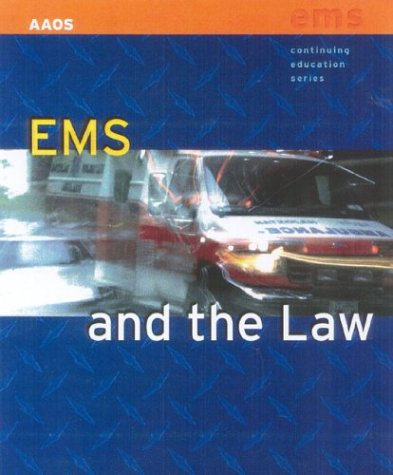 EMS and the Law 9780763720681