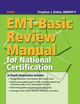 EMT-Basic Review Manual for National Certification 9780763744663