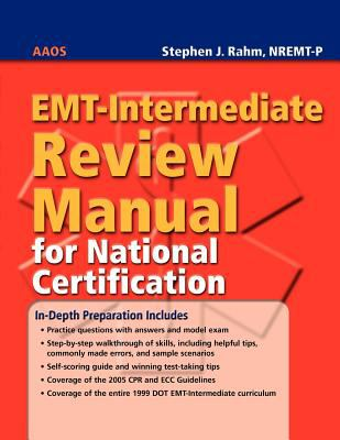 EMT-Intermediate Review Manual for National Certification 9780763764708