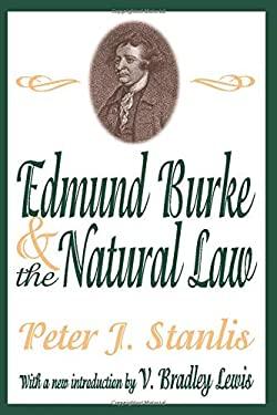 Edmund Burke & Natural Law (Ppr) 9780765809902