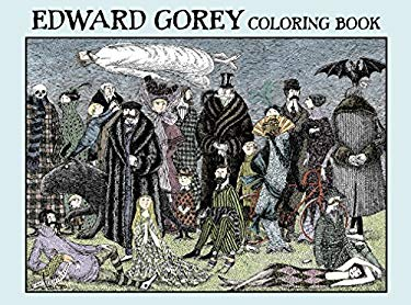 Edward Gorey: Coloring Book