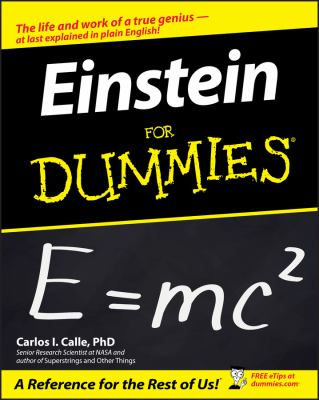 Einstein for Dummies 9780764583483