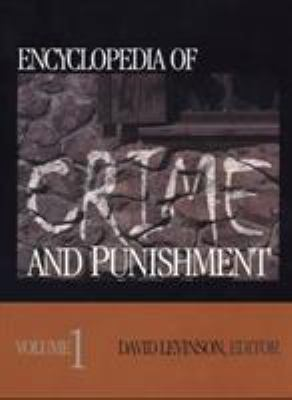 Encyclopedia of Crime and Punishment 9780761922582