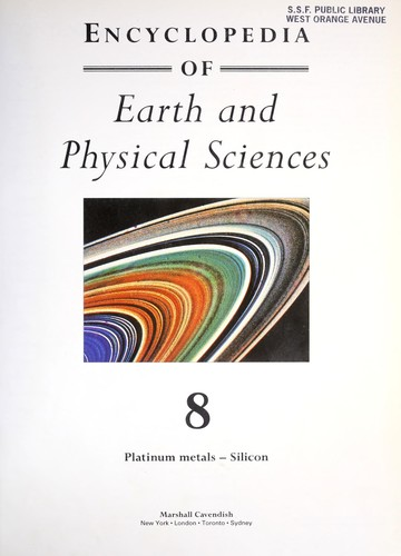 Encyclopedia of Earth and Physical Sciences