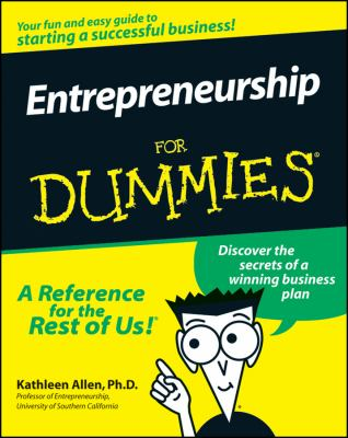 Entrepreneurship for Dummies 9780764552625