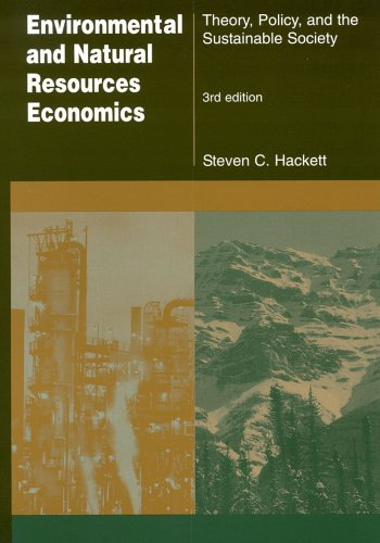 Environmental and Natural Resources Economics: Theory, Policy, and the Sustainable Society 9780765614735