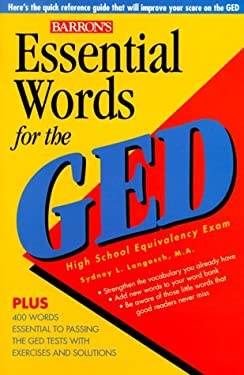 Essential Words for the GED 9780764108822