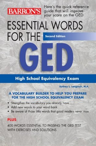 Essential Words for the GED 9780764123573