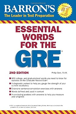 Barron's Essential Words for the GRE 9780764144783