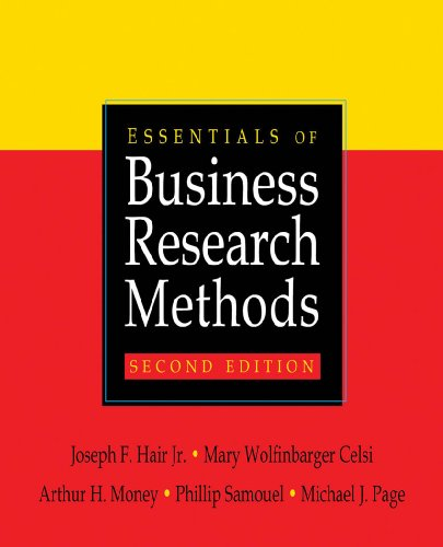 Essentials of Business Research Methods - 2nd Edition
