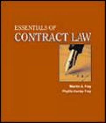 Essentials of Contract Law 9780766821453