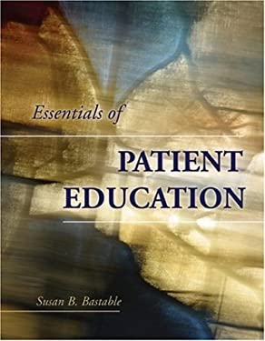 Essentials of Patient Education 9780763748425