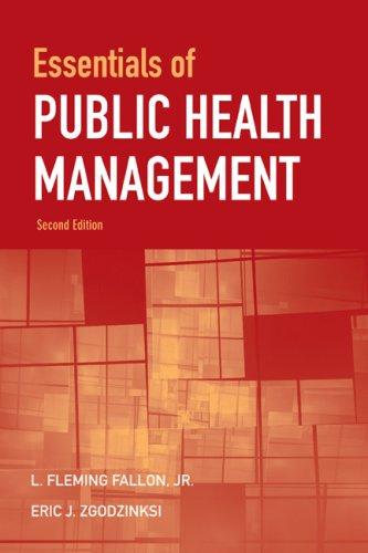 Essentials of Public Health Management 9780763756819