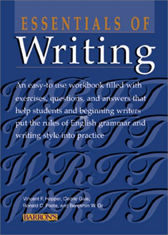 Essentials of Writing 9780764113680
