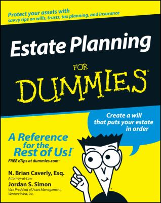Estate Planning for Dummies 9780764555015