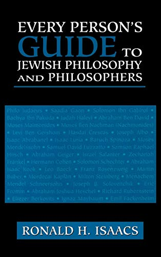 Every Person's Guide to Jewish Philosophy and Philosophers 9780765760173