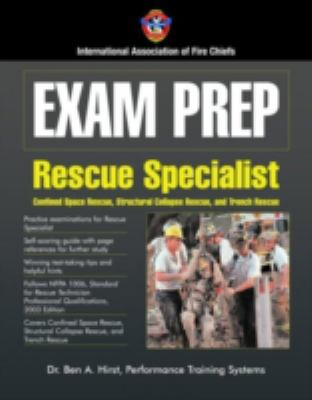 Exam Prep: Technical Rescue-Structural Collapse and Confined Space 9780763729066