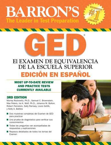 Barron's GED: El examen de equivalencia de la escuela superior, edicion en espanol