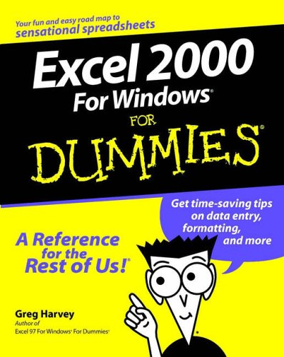 Excel 2000 for Windows for Dummies 9780764504464