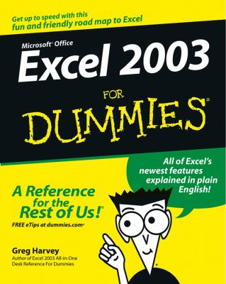 Excel 2003 for Dummies 9780764537561