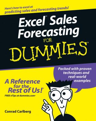 Excel Sales Forecasting for Dummies 9780764575938