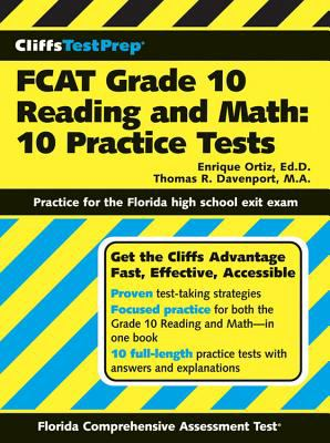 FCAT Grade 10 Reading and Math: 10 Practice Tests