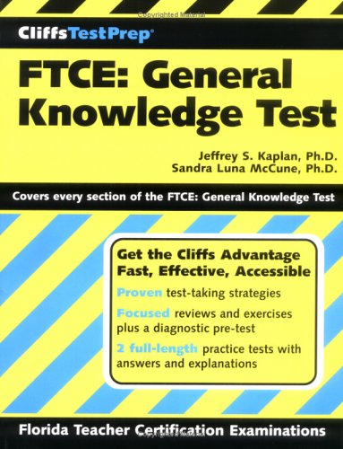 FTCE: General Knowledge Test 9780764589485