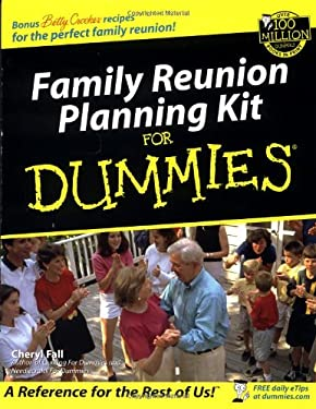 Family Reunion Planning Kit for Dummies [With CDROM] 9780764553998
