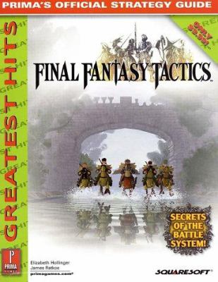 Final Fantasy Tactics Greatest Hits: Prima's Official Strategy Guide 9780761537335