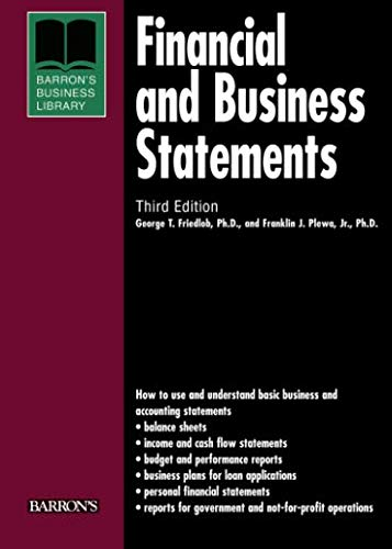Financial and Business Statements 9780764134180