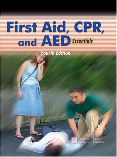 First Aid, CPR, & AED 9780763734121