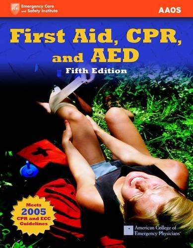 First Aid, CPR, and AED [With Access Code] 9780763783303