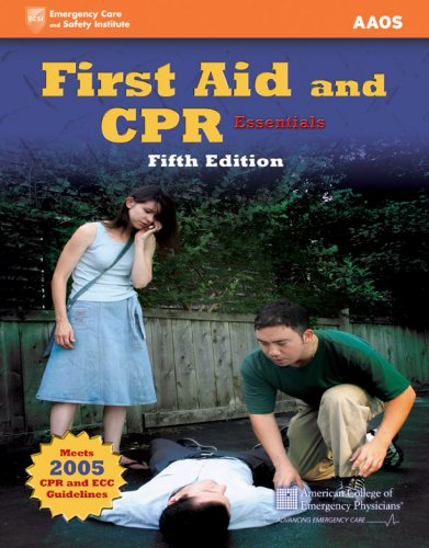 First Aid and CPR Essentials 9780763742263