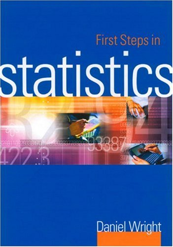 First Steps in Statistics 9780761951636