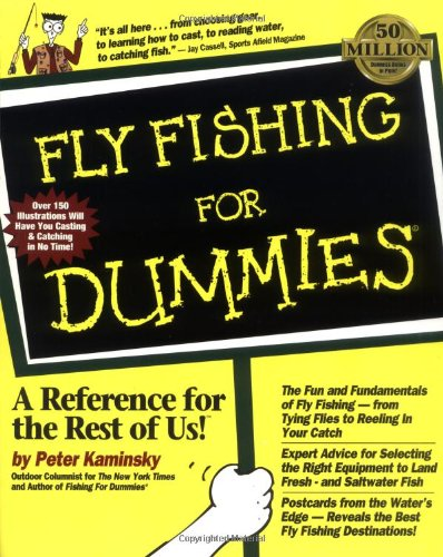 Fly Fishing for Dummies. 9780764550737