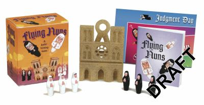 Flying Nuns: A Habit-Forming Game [With 6 Nun Figurines and Rule Booklet and Landing Mat] 9780762440092