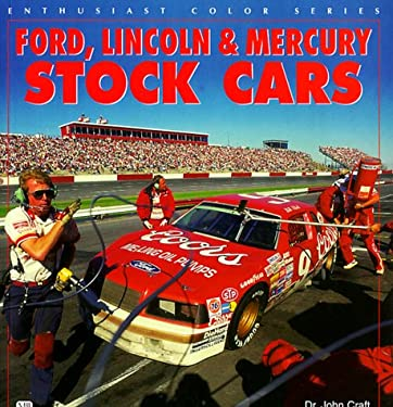 Ford, Lincoln & Mercury Stock Cars 9780760304877