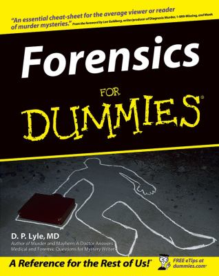 Forensics for Dummies 9780764555800