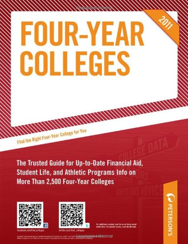 Undergraduate Guide: Four-Year Colleges 2011 9780768928341