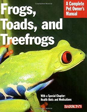 Frogs, Toads, and Treefrogs 9780764136726