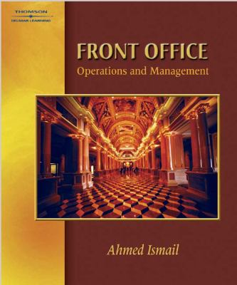 Front Office Management and Operations 9780766823433