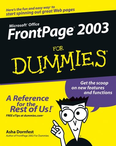 FrontPage 2003 for Dummies 9780764538827